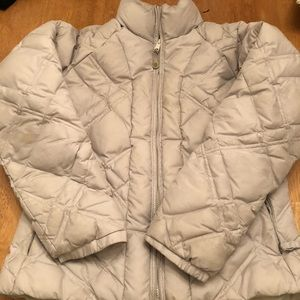 Columbia puffer coat good cond size Med comfy cute
